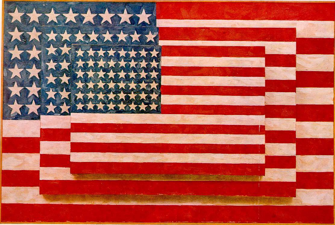 a biography of jasper johns one of the most famous painters in america
