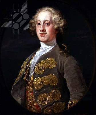 William Cavendish, Marquess of Hartington, Later 4th Duke of Devonshire — Уильям Хогарт