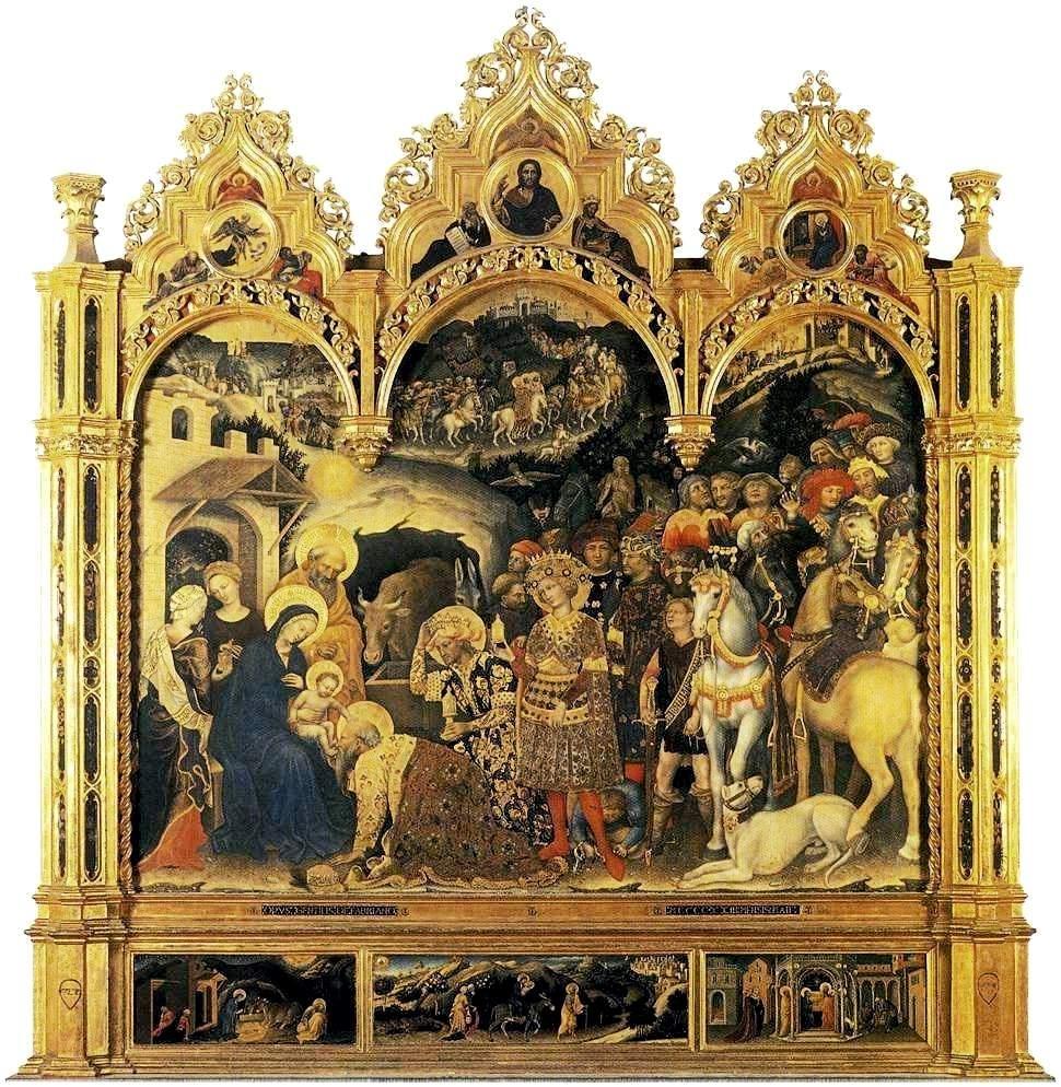 Поклонение волхвов  1423