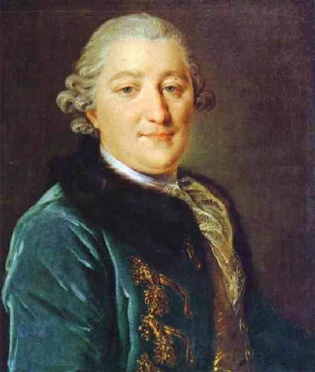 """""""Портрет графа А. Г. Орлова-Чесменского"""" 1779"""
