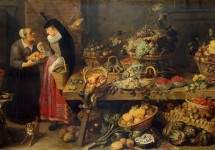 A Fruit Stall 1618