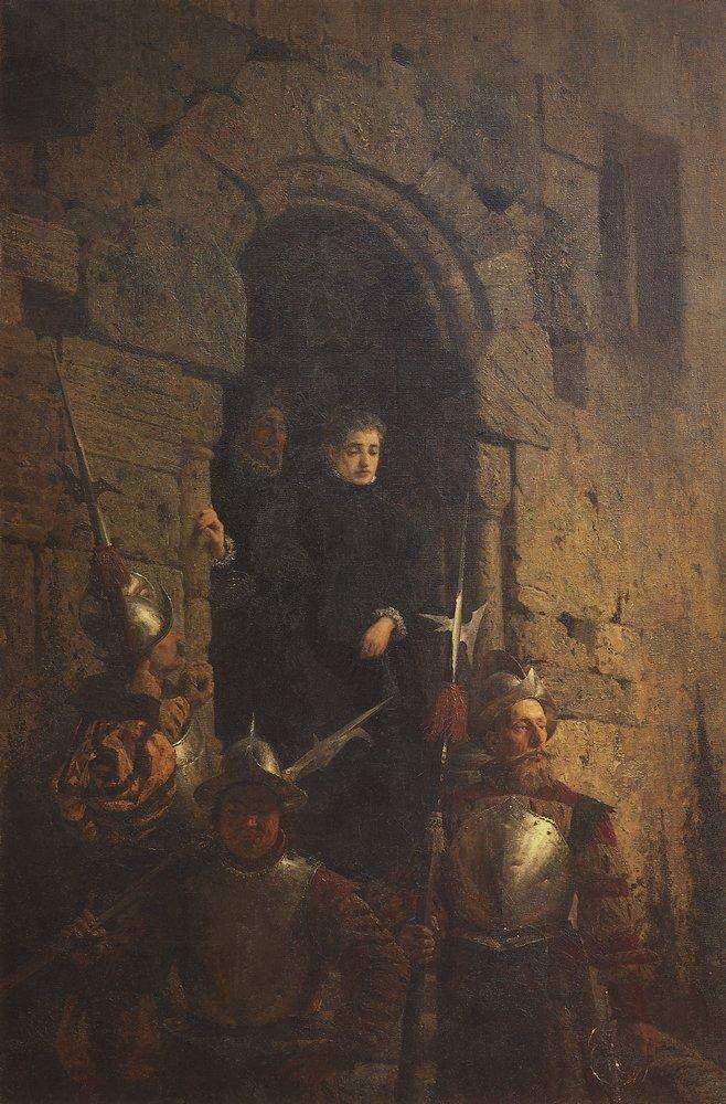 Арест графини д'Этремон