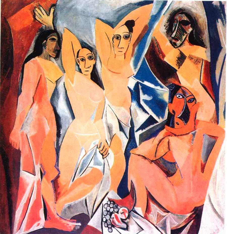 Авиньонские девицы, П.Пикассо