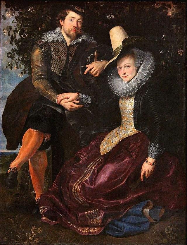 Автопортрет с Изабеллой Брант, 1609