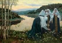 Девушки на берегу