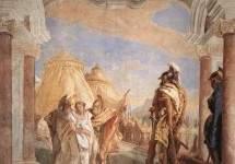 Эврибат и Талфибий, ведущие Брисеиду к Агамемнону . 1757
