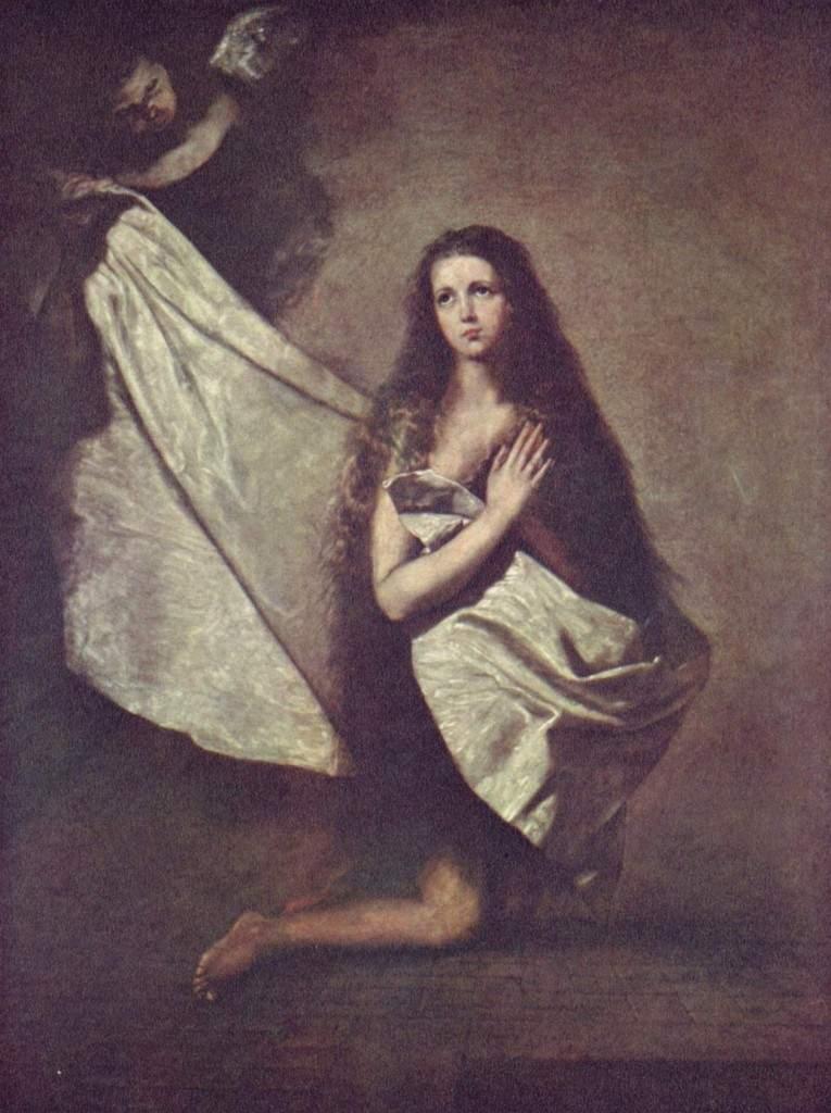 «Святая Инесса и ангел, укрывающий её покрывалом» 1641