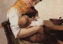 Материнская забота 1889