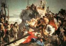Несение креста . 1737—38