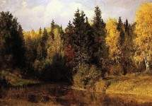 Осень в Абрамцеве