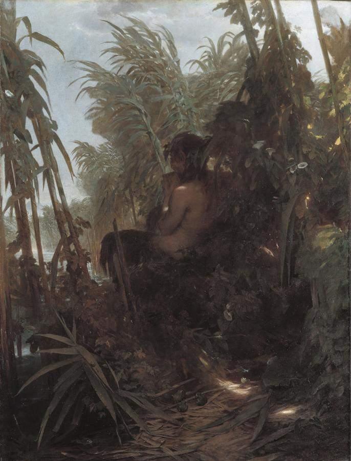 Пан в камышах 1858