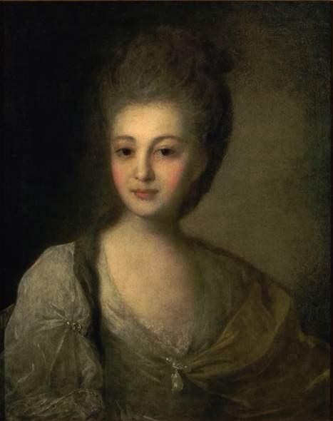 Портрет А.П. Струйской. 1772