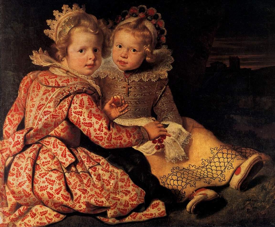 Две дочери художника