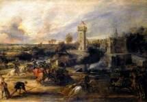Рыцарский турнир у Кастл Стиина, 1635-1637