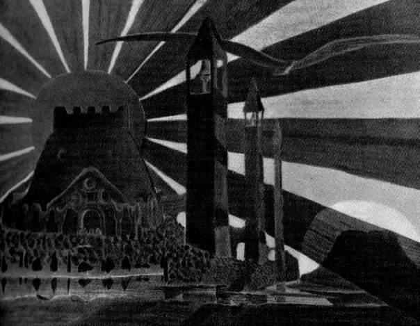 «Баллада о черном солнце» 1909