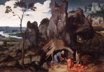 Св. Иероним в пустыне