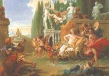 Царство Флоры . Около 1743