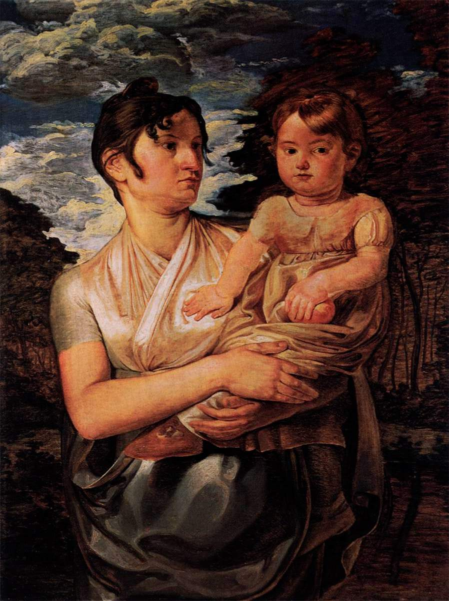 The-Artist's-Wife-and-Son