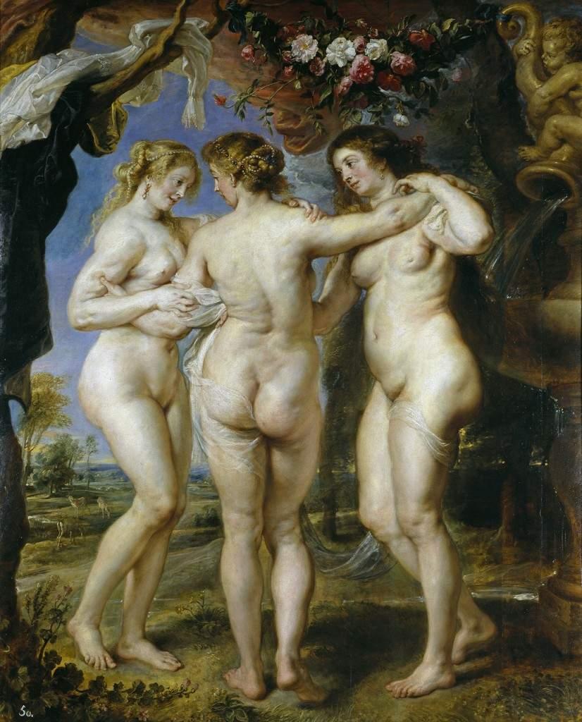 """""""Три грации"""".1639"""