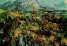 Вид горы Сент-Виктуар. 1904-1906 гг
