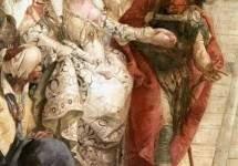 Встреча Антония и Клеопатры . 1747—50. Фрагмент