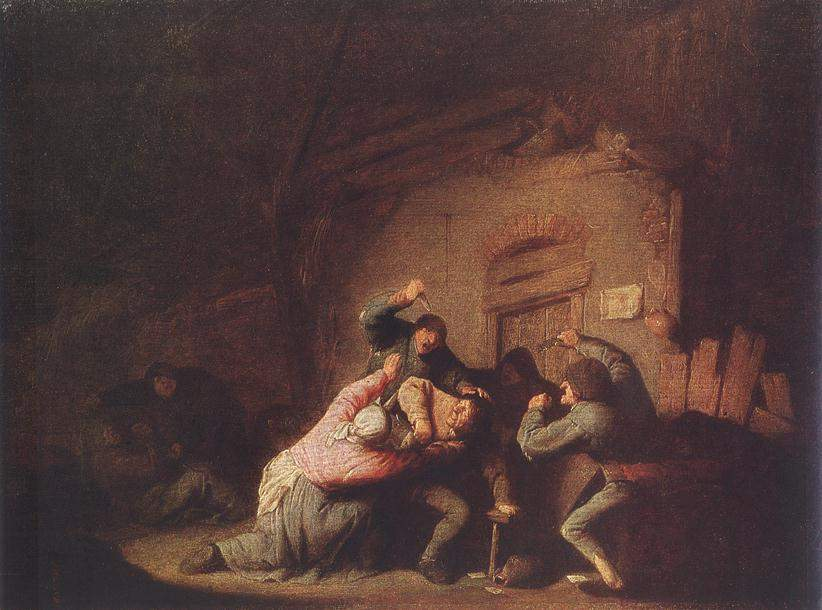A Fight 1635