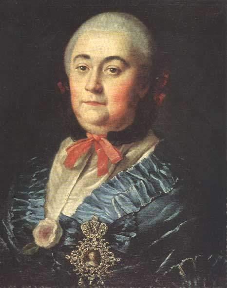 Портрет А.М. Измайловой. 1759 г