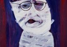 Auto retrato en blanco (self portrait in white) 1998