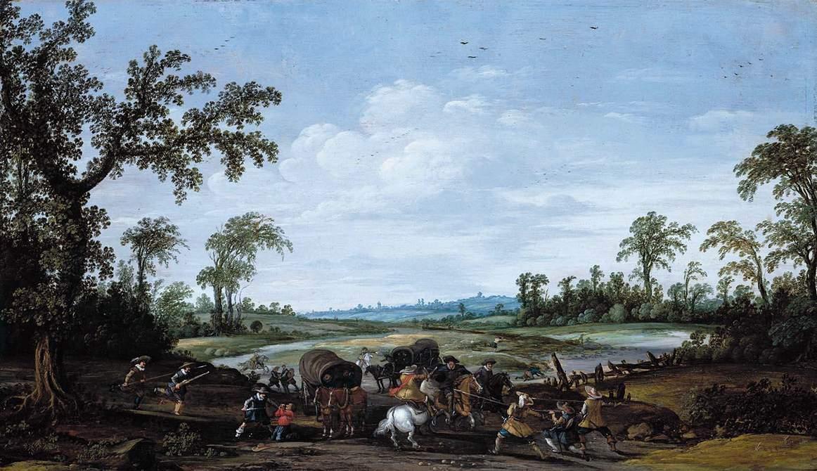 """""""Нападение на фургон"""", 1626"""
