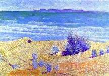Beach on the Mediterranian 1891