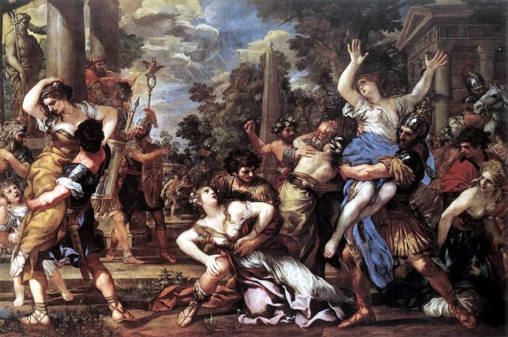 «Похищение сабинянок» 1627—1629