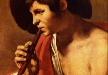 Boy Playing a Recorder 1621