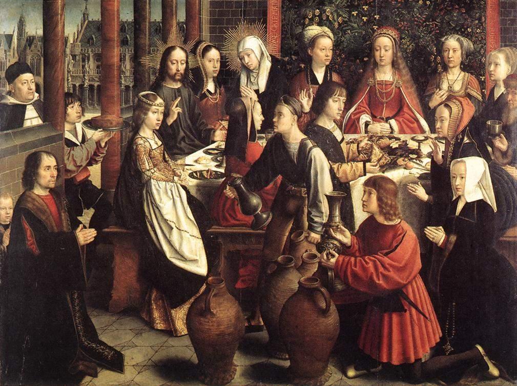 """""""Брак в Кане""""(около 1460-1523)"""