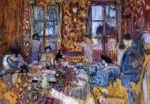 Breakfast at Villerville 1910
