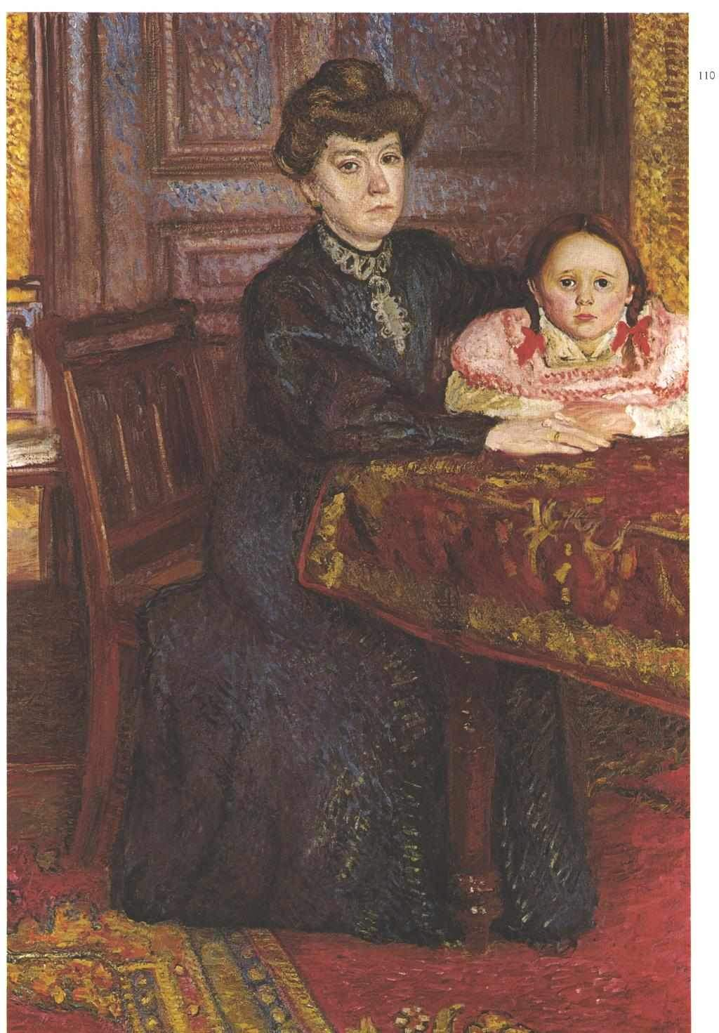 Double portrait of Matilda and Gertrude Schonberg 1906