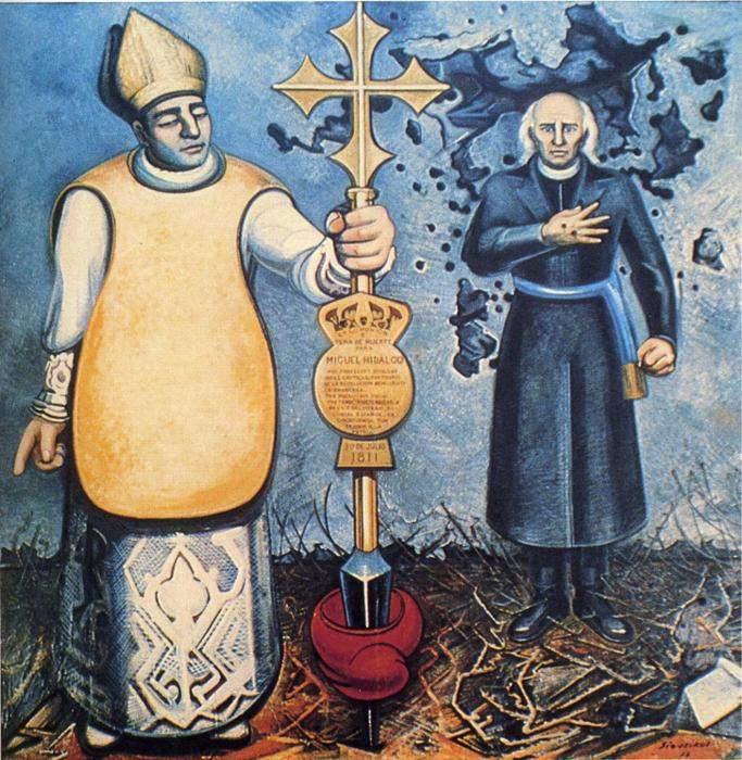 Excommunication and Execution of Father Hidalgo 1953
