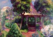 Garden in Hartford 1918
