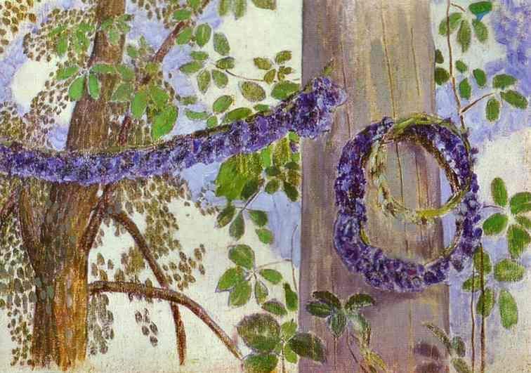 Гирлянды из васильков 1905