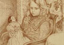Girl with Doll 1904