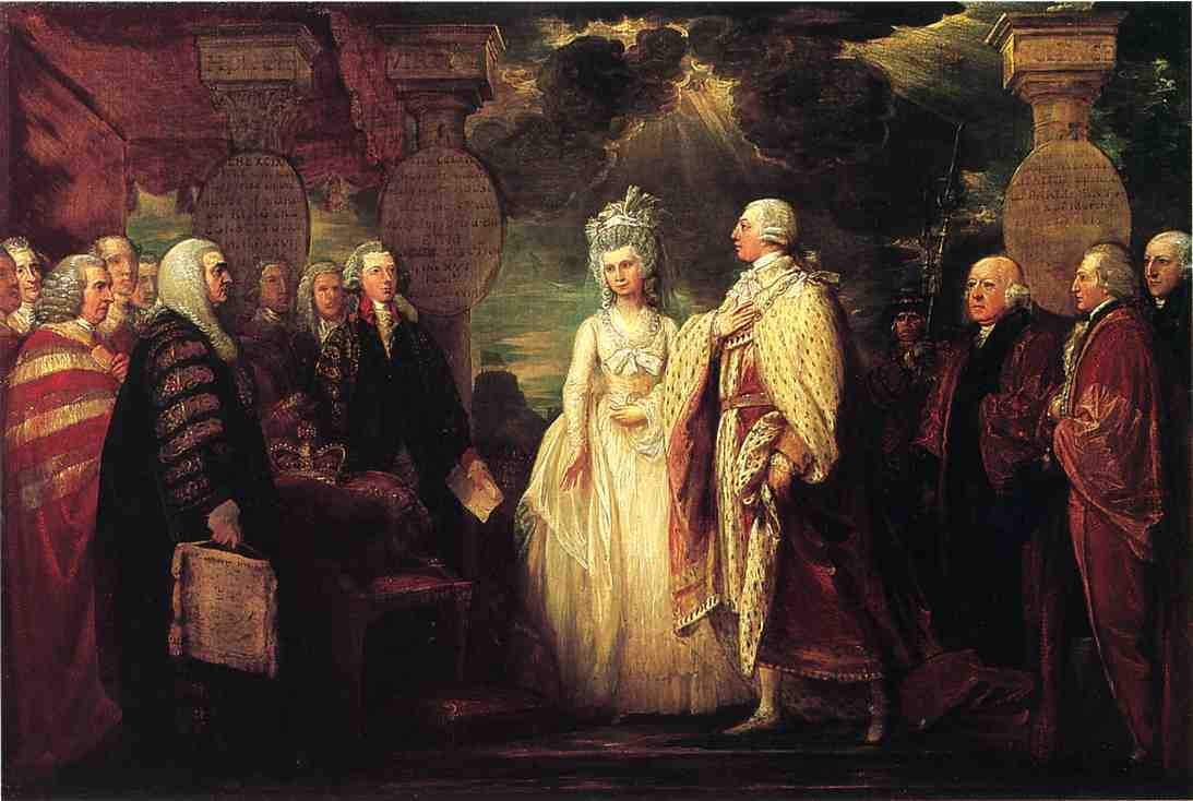 His Majesty George III Resuming Power 1789