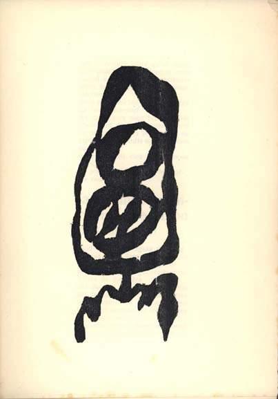"Illustration for Tristan Tzara's ""Vingt-cinq poemes"" 1918"