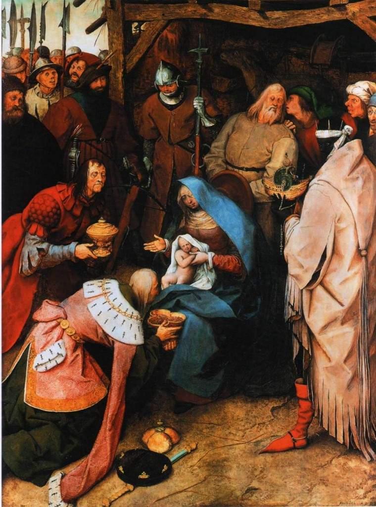 Поклонение волхвов 1564