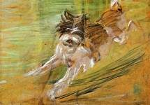 Jumping Dog Schlick 1908