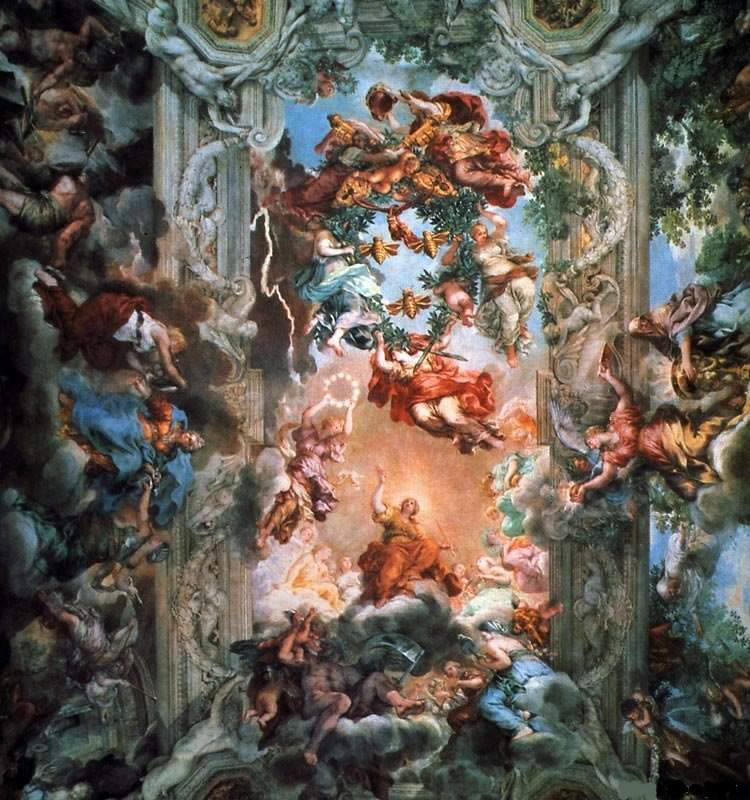 «Триумф Божественного провидения» 1633—1639