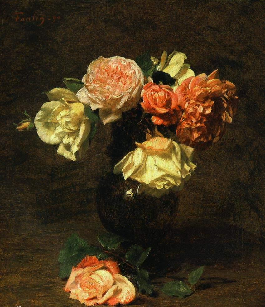 """""""Белые и розовые розы"""""""