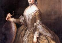 Luise Ulrike of Prussia, Queen of Sweden 1744