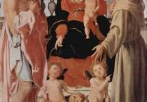 Madonna with St. Francis and St. Jerome 1522