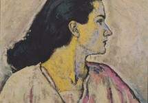 Portrait of a Woman in Profile 1912