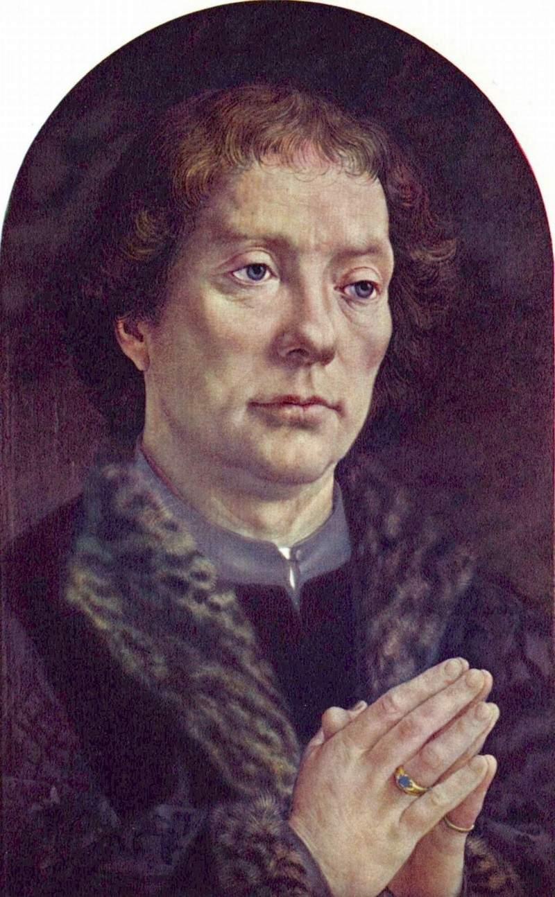 Portrait of Chancellor Jean Carondelet 1517
