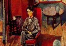 Портрет Жана Кокто 1916